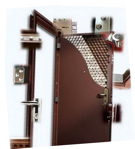 железная уличная дверь 150 см