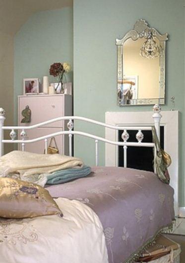 Спальня в стиле винтаж