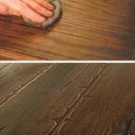 Изношенный деревянный пол, как сост...