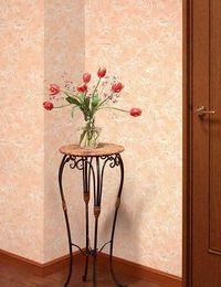 отделка стен виниловыми обоями