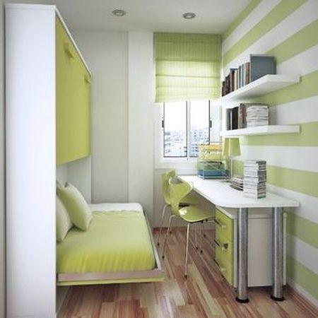 Как сделать с маленькой комнаты большую