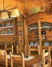 деревянный декор дома