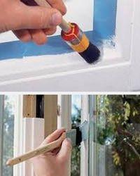 как покрасить деревянные окна