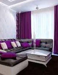 декор фиолетового цвета