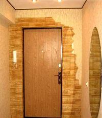 отделка дверного проема