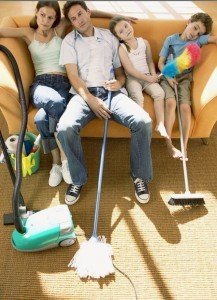 Быстрая уборка квартиры