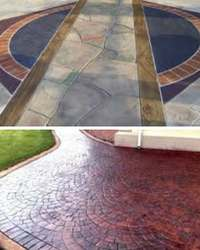 декоративный бетон описание