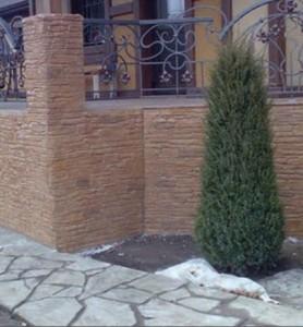 применение декоративного бетона