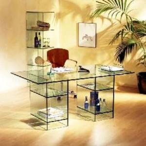 стеклянный интерьер в дизайне