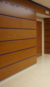 шпонированные панели элемент декора