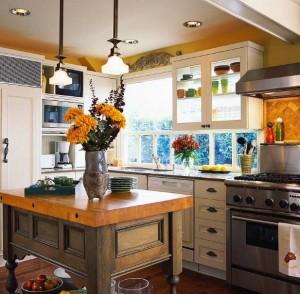 Стиль кантри для кухни