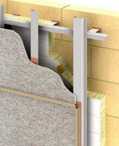 Вентилируемые фасады для дома