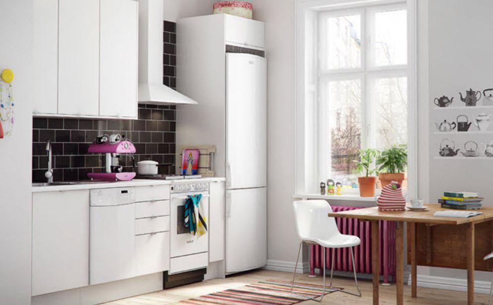Белый цвет кухни