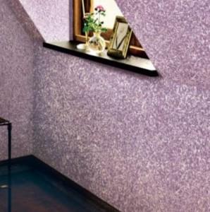 Стены с флоковым покрытием