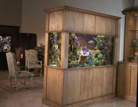 аквариум для разделения пространства