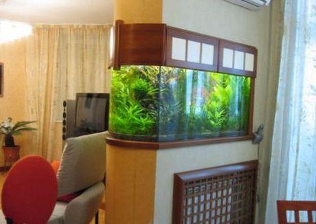 аквариум для однокомнатной квартиры