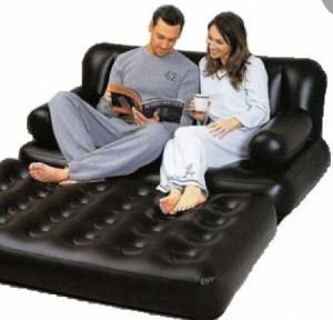 Как выбрать надувную мебель