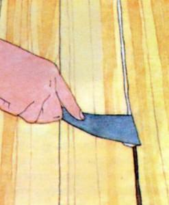 Как заделать трещины в полу