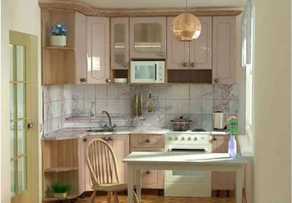 виды планировок кухни