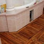 напольное покрытие ванной