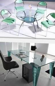 преимущества стеклянной мебели