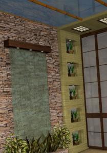как клеить бамбук обои