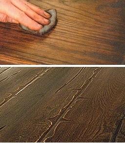 как состарить древесину