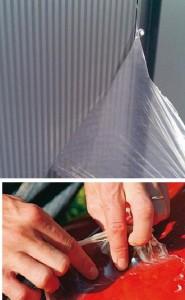 защита при ремонте жидкой пленкой