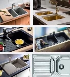 виды кухонных моек