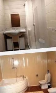 обшивка ванной пластиковыми панелями