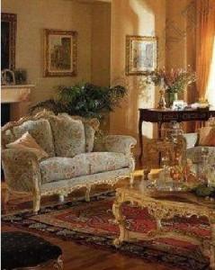 барокко стиль интерьера