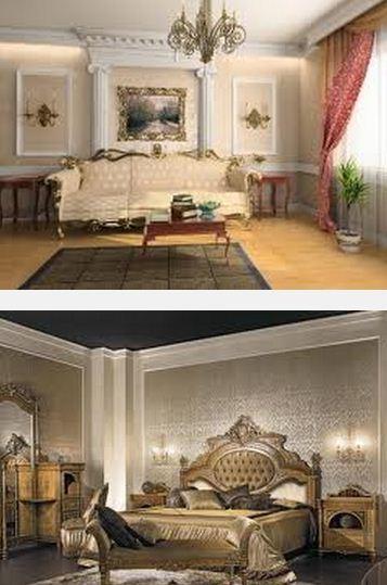 черты стиля в интерьере барокко