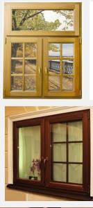 экологичные деревянные окна