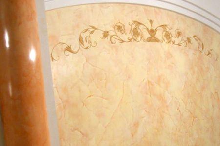 отделка стен венецианской декоративной штукатуркой