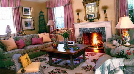 декор гостиной в викторианском стиле