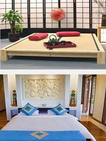 как декорировать спальню в японском стиле