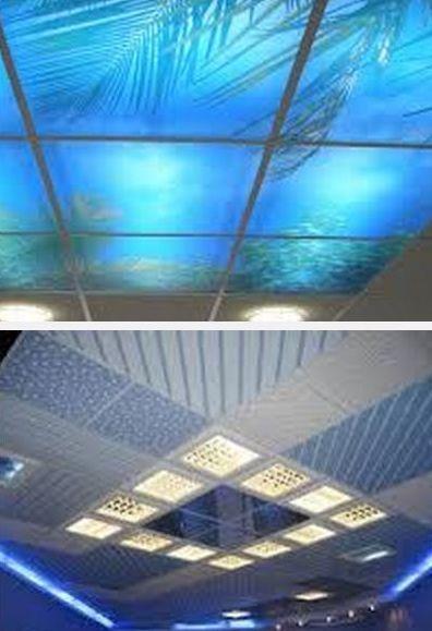 материалы для подвесных потолков