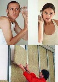принципы звукоизоляции стен