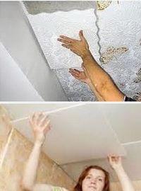 бесшовная плитка для потолка