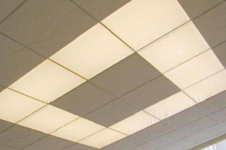 стекловолоконный потолок в интерьере