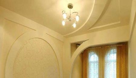 как смонтировать гипсокартонный потолок