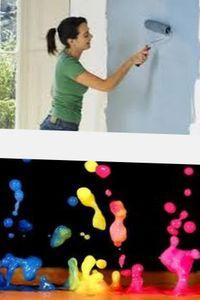 применение клеевых красок