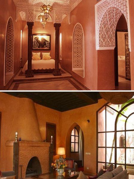 стены, марокканская штукатурка