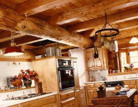 деревянный стиль обустройства дома