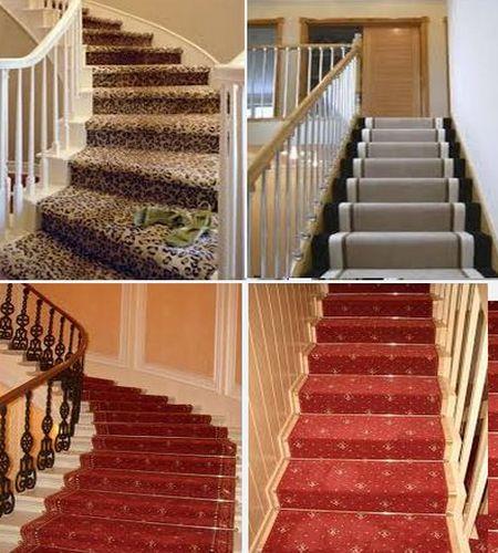 ковровое покрытие для лестницы