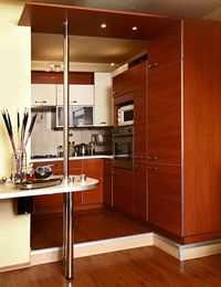 удобство на маленькой кухне