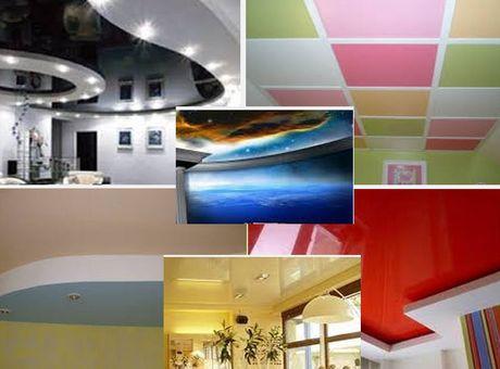 цветовые решения для потолка