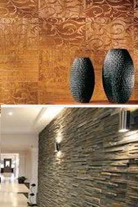 металлизированные обои для стен