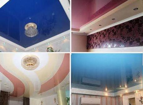 цветовые варианты для потолка