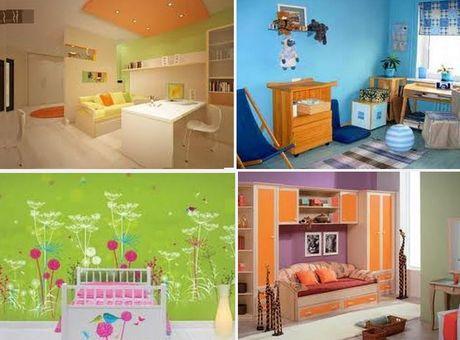 цветовые сочетания для комнаты ребенка